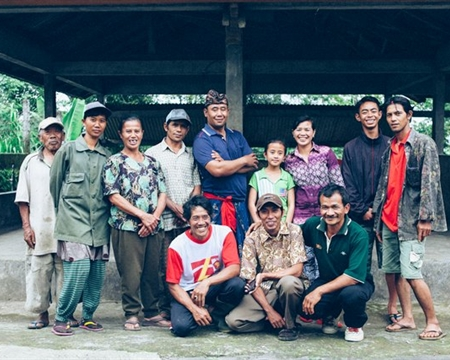 Typica, and Catimor Bourbon Subak Abian Kintamani Highlands of Central Bali, Indonesia