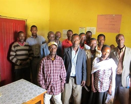 Ethiopia Adame Garbota Cooperative Gedeo Zone