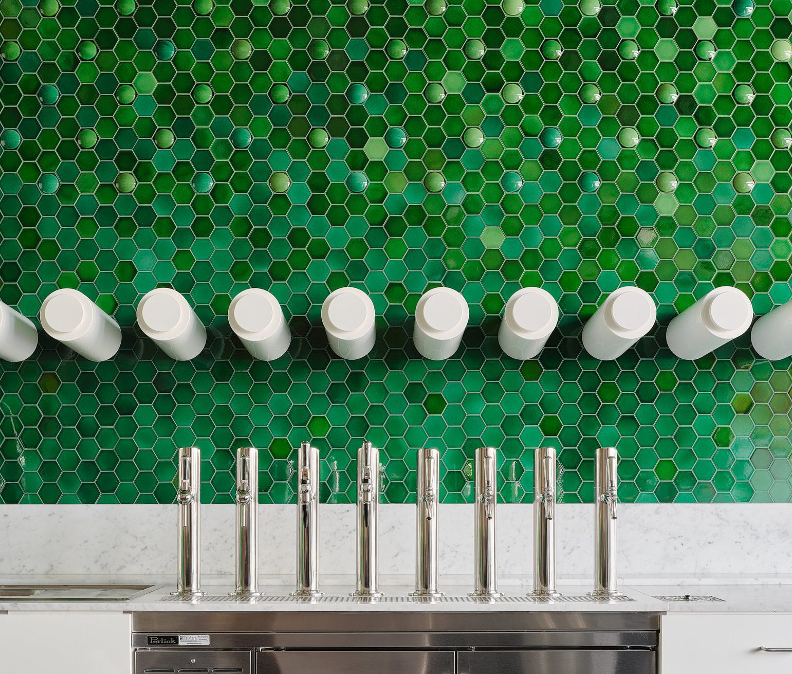 The Tasting Room tap system