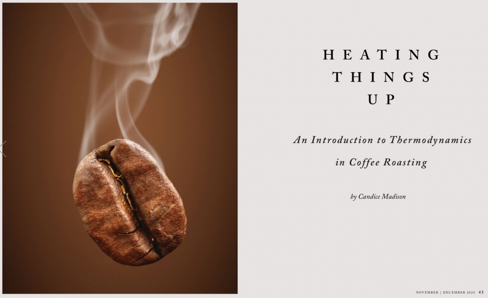 Heating Things Up - An Introduction to Thermodynamics in Coffee Roasting
